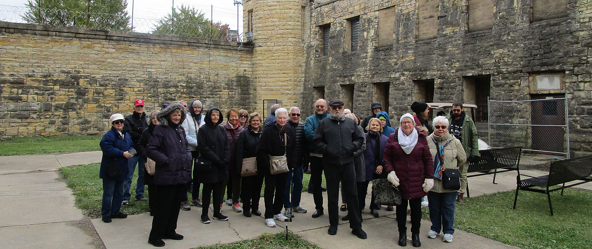 MaineStreamers Visit Old Joliet Prison