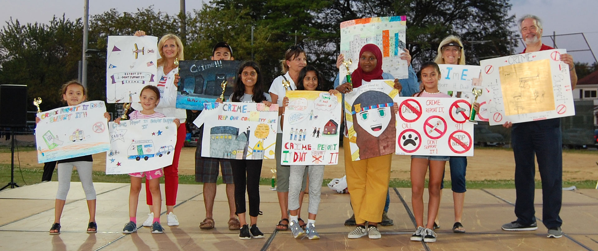 National Night Out Poster Contest Winners