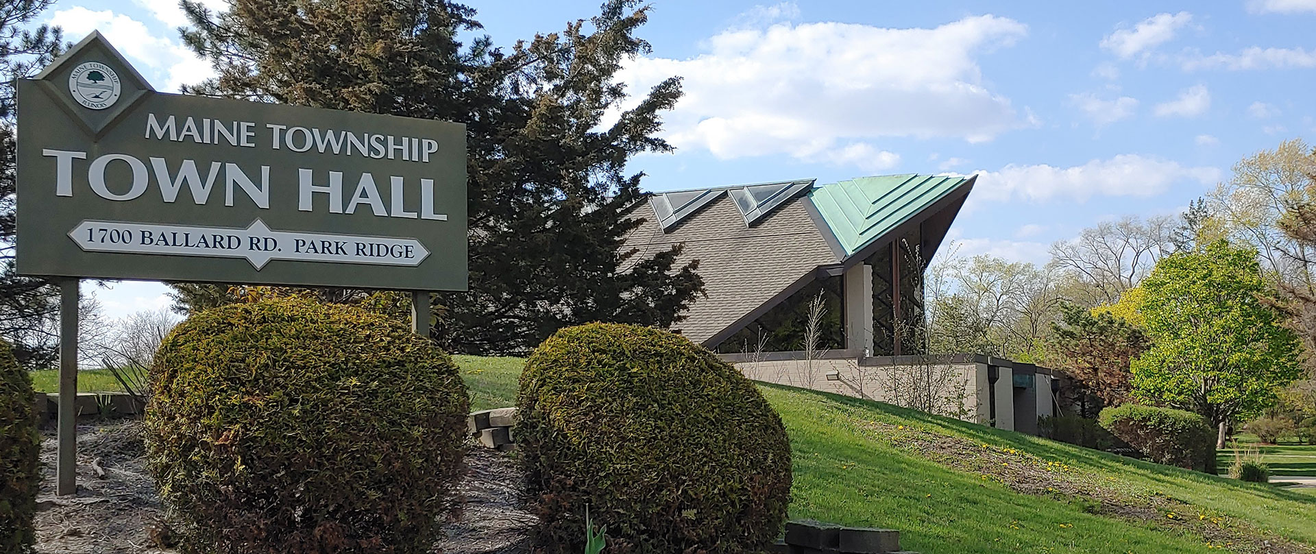Maine Township Town Hall Building